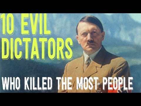 Top 10 EVIL Dictators That Killed The MOST People