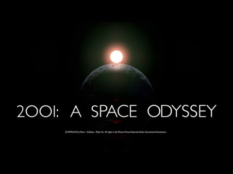 2001: A Space Odyssey Intro Remastered in 4K