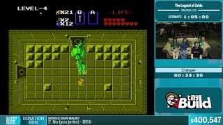 The Legend of Zelda (Swordless) by jkoper in 47:06 - Summer Games Done Quick 2015 - Part 82