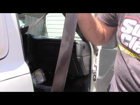 Tips To Cleaning Dirty Car Seat Belts