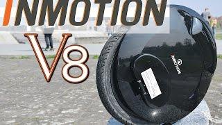 Inmotion V8, elektrisches Einrad, Tutorial, Test, Anleitung, Unboxing, Review (Deu,Ger)