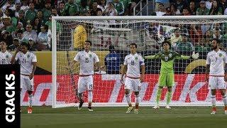 Así se vivió el antes y después del 0-7 México vs Chile
