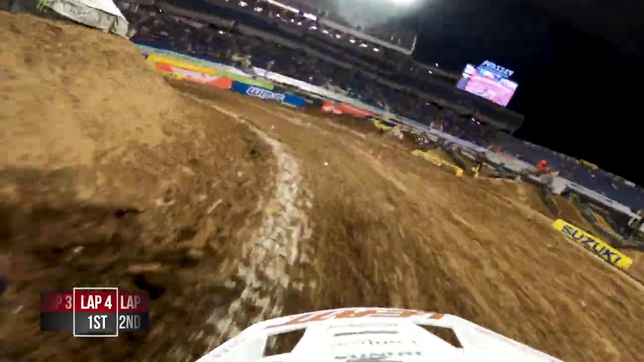 GoPro: Shane McElrath | 2021 Monster Energy Supercross | Orlando 1 | 450 Heat 1 | HERO9 Giveaway