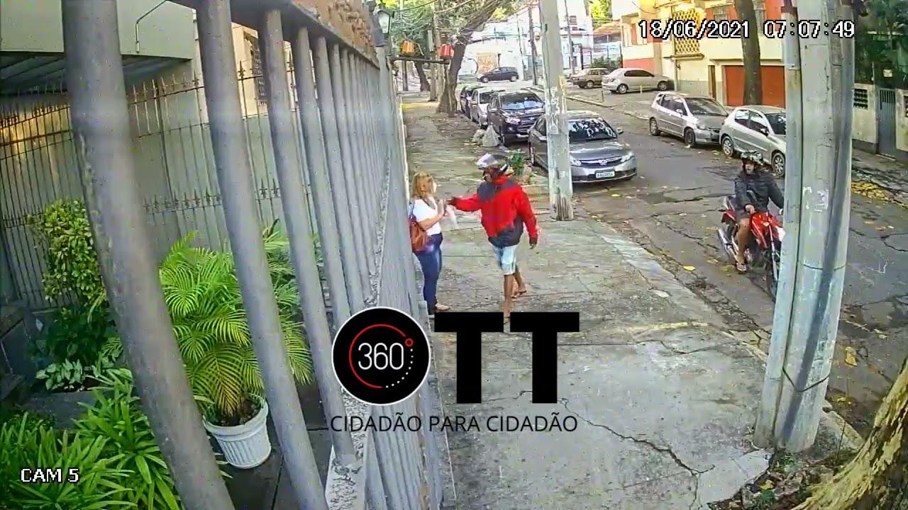 Rua São João no bairro Rocha - RJ - 18/06/2021
