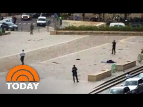 Notre Dame Attack In Paris: New Video Emerges | TODAY