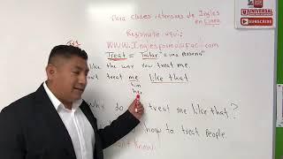 """Aprende a utilizar la palabra """"Treat en Inglés"""