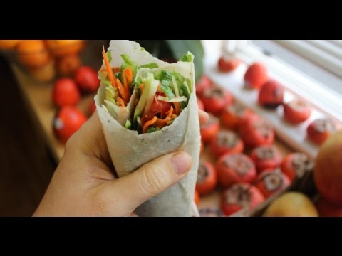how to make tortilla wraps vegan