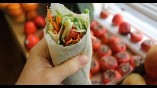 Raw Vegan Tortilla Wrap 1 Ingredient !!
