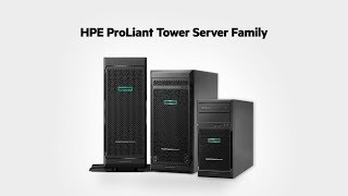 Meet the HPE ProLiant Tower Server Family