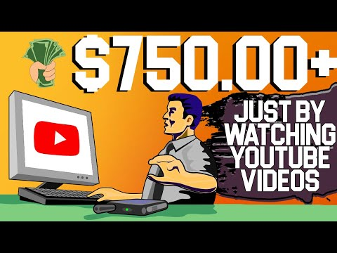 FREE $100/HOUR By Watching YouTube Videos (Make Money Online 2021)