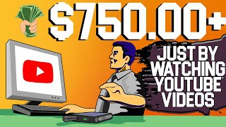 FREE $100/HOUR By Wat¢hing YouTube Videos (Make Money Online 2021)