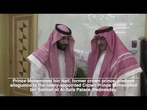 Mohammed bin Salman named Crown Prince