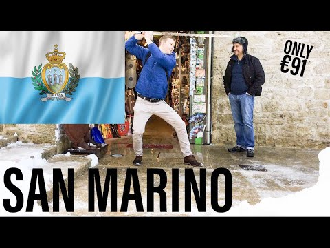 San Marino - San Marino | Europe on a Shoestring | Ep. 14