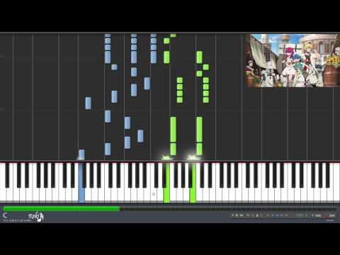Magi: The Labyrinth of Magic Ending 1 - Yubi Bouenkyou (Synthesia)