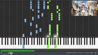 Magi: The Labyrinth of Magic Ending 1 - Yubi Bouenkyou (Synthesia)