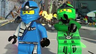 The LEGO Ninjago Movie Videogame - Ninjago City Downtown Free Roam Gameplay