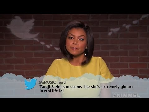 Thumbnail: Mean Tweets: Movie Edition -- Seth Rogen, George Clooney, Taraji P Henson