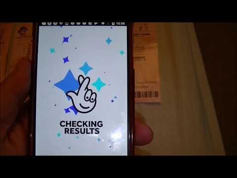 The National Lottery Mobile Application! Very Easy To Play & Check The Results From Home!