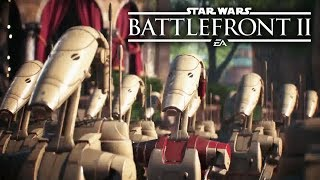 Star Wars Battlefront 2 - Intense Clone Wars Multiplayer Gameplay! Darth Maul, B2 Battle Droid!