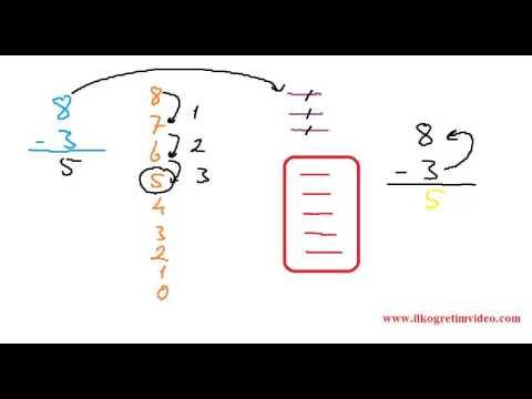 1. sınıf çıkarma işlemi konu süper konu anlatımı