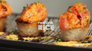 Rethink Rice  Spicy Tuna on Crispy Rice
