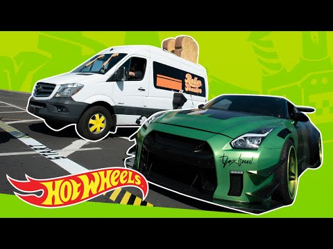 Building A LIFE SIZE Hot Wheels Car! | Fast Track | Hot Wheels
