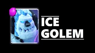 best ice golem deck clash royale