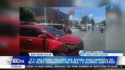 P 1-milyong halaga ng shabu nakumpiska sa buy bust operation ng PDEA ; 3 suspek arestado