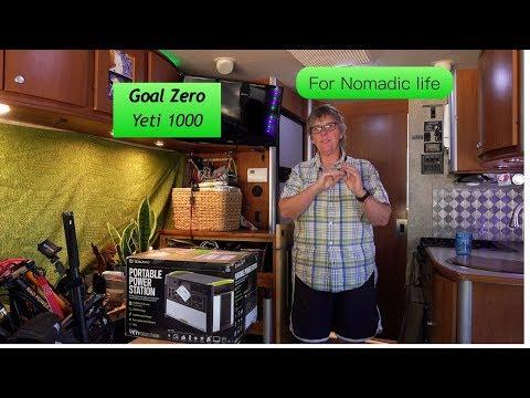 GOAL ZERO 1000 Lithium for nomadic RV Life