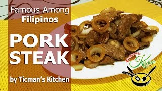 PORK STEAK | Pork Recipe | Steak Recipe | Pinoy Steak