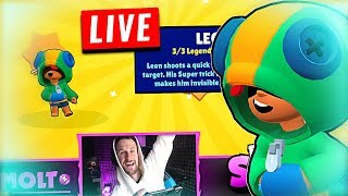 WE GOT LEON!!!   BRAWL STARS Legendary Brawler Leon