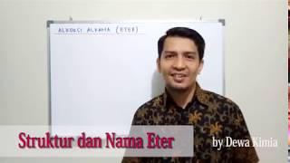 Struktur dan Nama Eter Alkoksi Alkana (Eter)