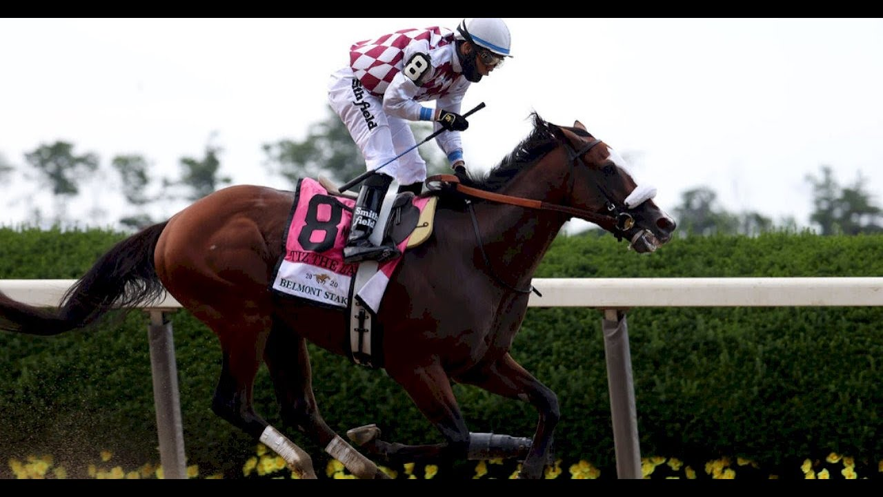 Tiz the Law Wins an Unusual Belmont Stakes