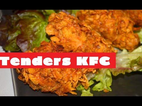 recette-:-poulet-façon-kfc---crispy---tenders-façon-kfc---kfc-chicken