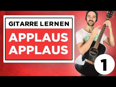 Applaus Applaus - Sportfreunde Stiller - Gitarre lernen - Teil 1