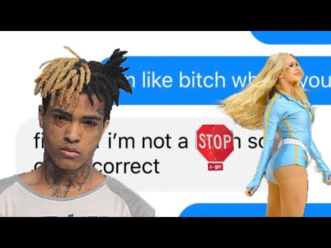 XXXTENTACION LOOK AT ME LYRIC PRANK ON BLONDE CHEERLEADER (GONE RIGHT!)