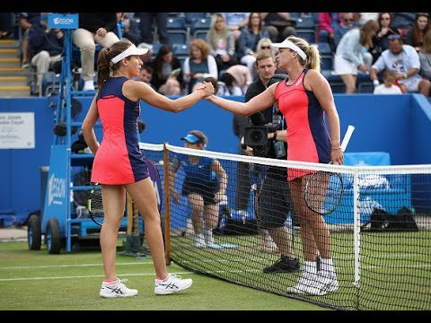 2017 Aegon Classic Second Round | CoCo Vandeweghe vs Johanna Konta | WTA Highlights