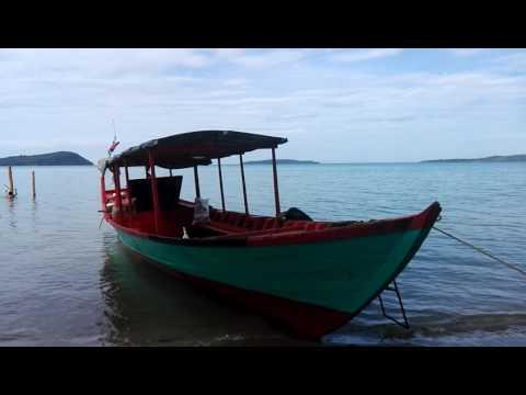 Cambodia Ream Beach to Bamboo Island Koh Russei Sihanoukville #1