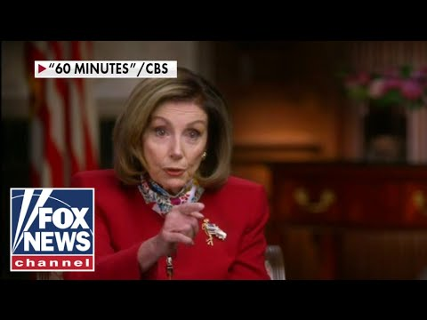 Pelosi snaps at '60 Minutes' reporter over role in stalled relief, 'The Five' reacts