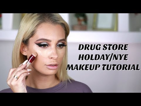 DRUGSTORE NEW YEARS EVE MAKEUP TUTORIAL thumbnail
