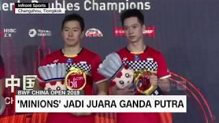 'The Minions' Juara Ganda Putra BWF China Open 2019