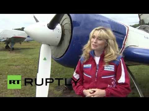 Russia: Meet Svetlana Kapanina, the most decorated female pilot ever