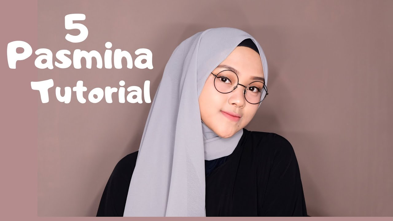 10 Tutorial Hijab Pashmina Yang Simple Nggak Bikin Ribet