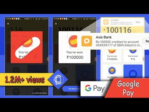 Repeat GOOGLE (PHONEPE+PAY+TEZ) NEW OFFER EARN ₹100,000