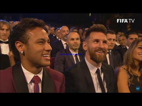 Ronaldo,Neymar And Messi In FIFA Best Award 2017
