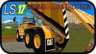 LS17 Mining & Construction Economy V1 - Bald neue CAT Fahrzeuge #066 SE02 ★ Farming Simulator Deutsc