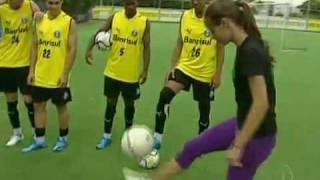 Mazzah - Garota de 15 anos, Lara Schuler, bate um bolão no MAZZAH e na TV Globo!