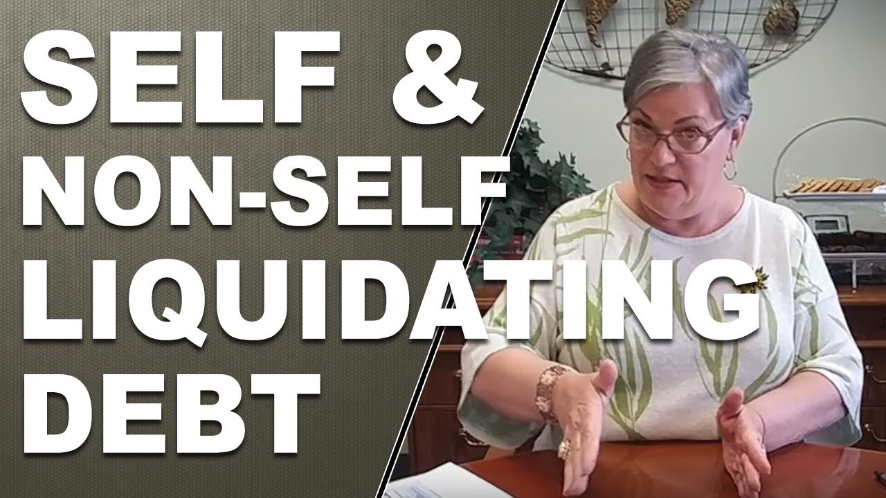 Non self liquidating debt