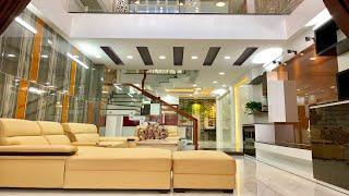Nhà bán Gò Vấp. 4.2m x 17m nhà mặt tiền 4 lầu Thiết kế đẹp Cao Cấp ở kinh doanh tốt