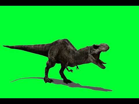 Jurassic  Park move green screen effect kinemaster